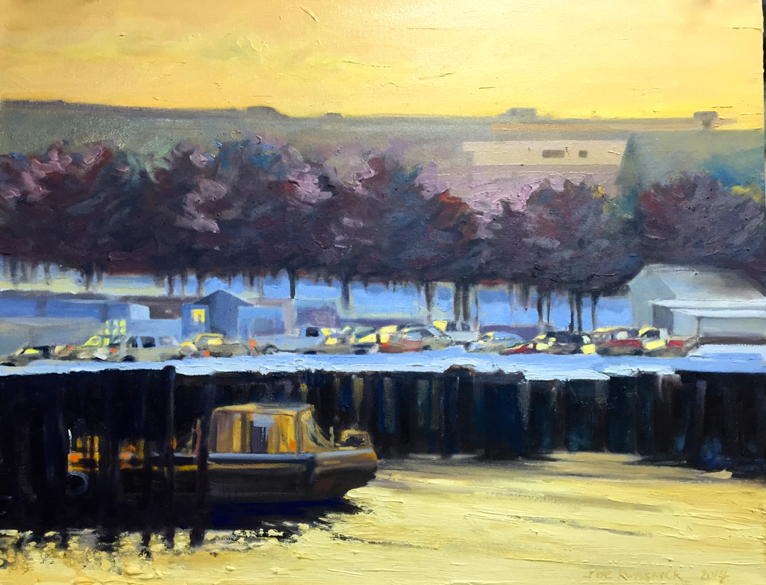 My newest series focuses on Harbor and architectural views.